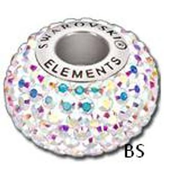 Swarovski BeCharmed Pave Bead 80101 Crystal AB