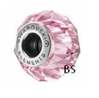 Swarovski BeCharmed Bead 5948 Light Rose