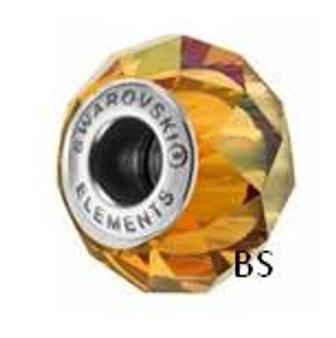 Swarovski BeCharmed Bead 5948 Crystal Copper