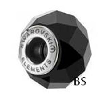 Swarovski BeCharmed Bead 5948 Jet