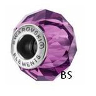 Swarovski BeCharmed Bead 5948 Amethyst