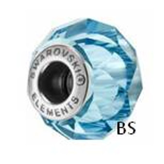 Swarovski BeCharmed Bead 5948 Aquamarine