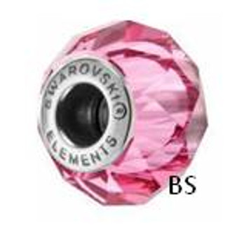 Swarovski BeCharmed Bead 5948 Rose