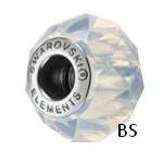 Swarovski BeCharmed Bead 5948 White Opal