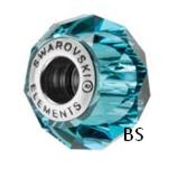 Swarovski BeCharmed Bead 5948 Indicolite