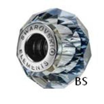 Swarovski BeCharmed Bead 5948 Crystal Blue Shade