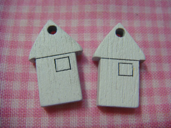 Wooden House Charm Finding