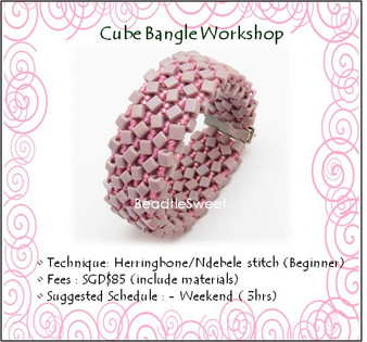 Jewelry Making Course : Cube Bangle Workshop