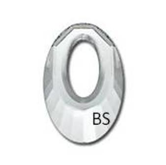 30mm Swarovski 6040 Crystal Pendant