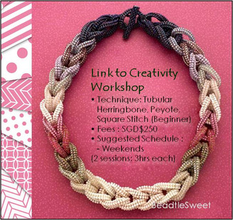 Jewelry Making Course : Link to Creativity Choker Workshop
