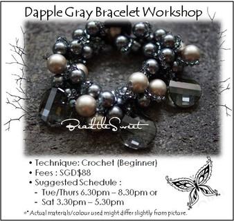 Jewelry Making Course : Dapple Gray Bracelet Workshop