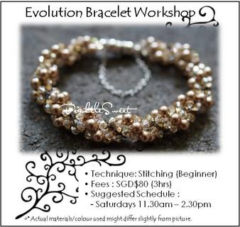 Jewelry Making Course : Evolution Bracelet Workshop