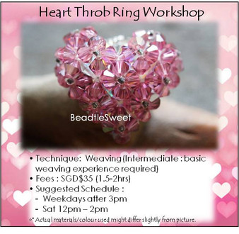 Jewelry Making Course : Heart Throb Ring Workshop