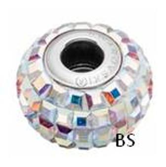 Swarovski BeCharmed Pave Bead 80201 Crystal AB