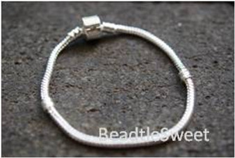Bracelet for BeCharmed Beads (Silver Plating)