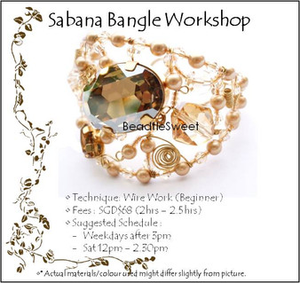 Sabana Bangle Workshop