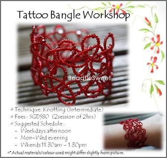 Tattoo Bangle Workshop