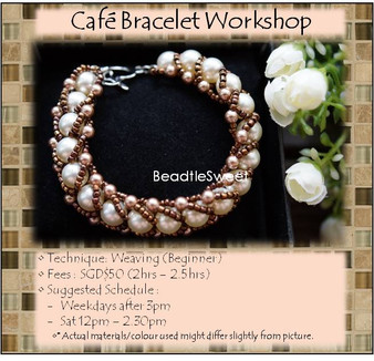 Cafe Bracelet Workshop
