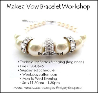 Make a Vow Bracelet Workshop