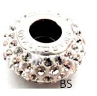 Swarovski BeCharmed Pave Bead 80101 Crystal