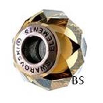 Swarovski BeCharmed Bead 5948 Crystal Bronze