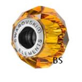 Swarovski BeCharmed Bead 5948 Topaz