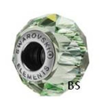 Swarovski BeCharmed Bead 5948 Chrysolite