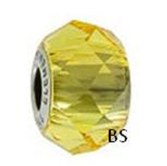 Swarovski BeCharmed Bead 5948 Light Topaz