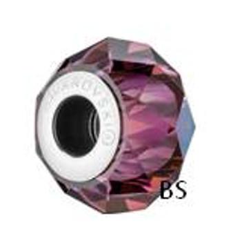 Swarovski BeCharmed Bead 5948 Crystal Lilac Shadow