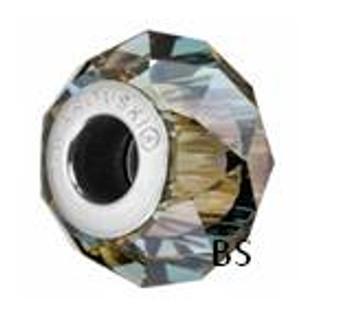 Swarovski BeCharmed Bead 5948 Iridescent Green