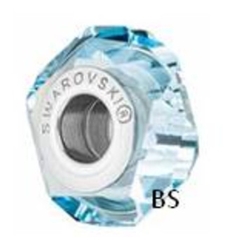 Swarovski BeCharmed Fortune Bead 5929 Aquamarine