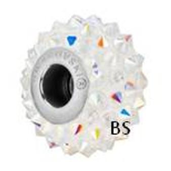 Swarovski BeCharmed Spike Bead 80401 Crystal AB