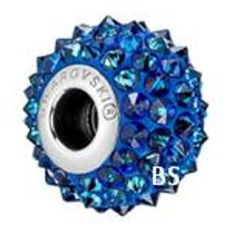Swarovski BeCharmed Spike Bead 80401 Crystal Bermuda Blue