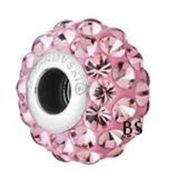 Swarovski BeCharmed Cabachon Bead 80501 Crystal Antique Pink