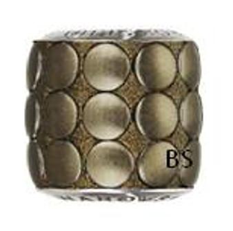 Swarovski BeCharmed Pave Metallic Bead 80701 Bronze Brushed