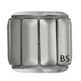 Swarovski BeCharmed Pave Metallic Bead 80801 Silver Brushed