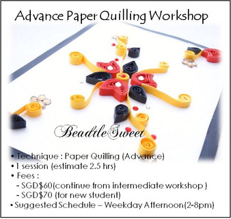 Advance Paper Quilling Workshop