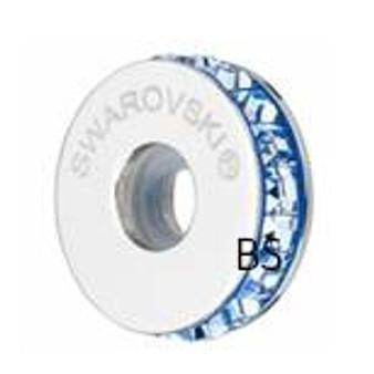 Swarovski BeCharmed Pave Stopper 81001 Light Sapphire