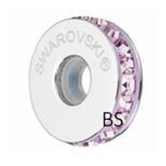 Swarovski BeCharmed Pave Stopper 81001 Light Amethyst