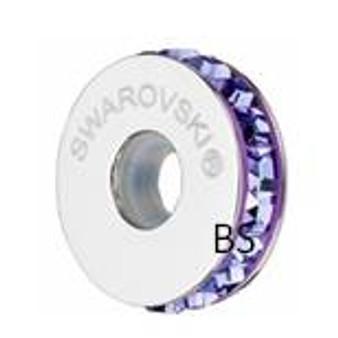 Swarovski BeCharmed Pave Stopper 81001 Tanzanite