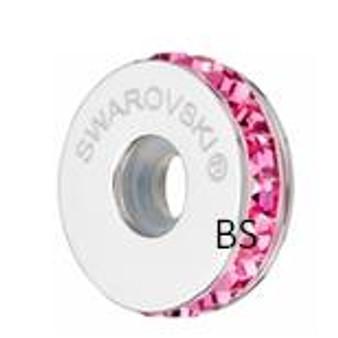 Swarovski BeCharmed Pave Stopper 81001 Rose