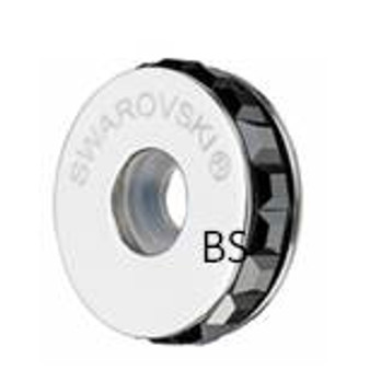 Swarovski BeCharmed Pave Stopper 81001 Jet Hematite