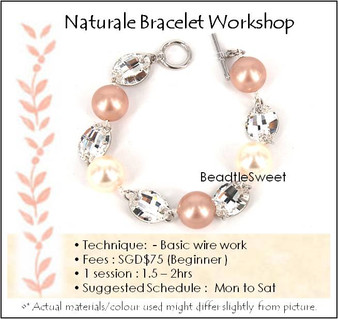 Jewelry Making Course : Naturale Bracelet Workshop