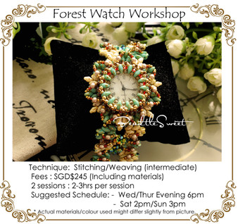 Jewelry Making Course : Forest Watch Workshop
