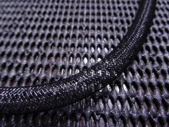 8mm Black Tube for Crystal Dust