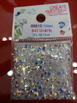 Swarovski Crystal AB Dust