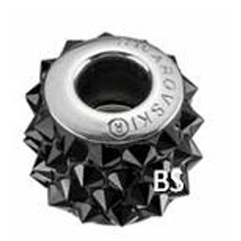 Swarovski BeCharmed Punk Bead 80901 Jet