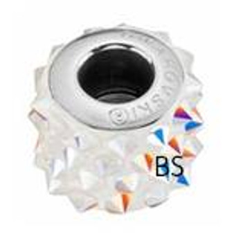 Swarovski BeCharmed Punk Bead 80901 Crystal AB