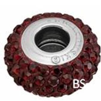 Swarovski BeCharmed Pave Bead 81101 Siam