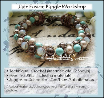 Jade Fusion Bangle Workshop